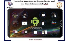 Desarrollo de una Aplicación Android para
