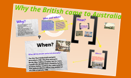 Copy of Why did the British come to Australia?