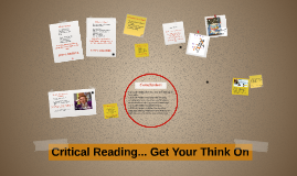 Critical Reading and Thinking