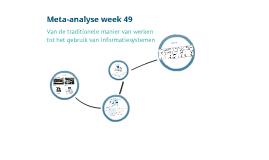 Meta-analyse week 49