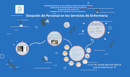 dotación de Personal en los Servicios de Enfermería