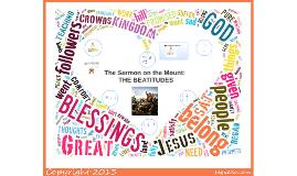 RE 9: Beatitudes-Schaub