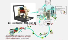 Acontecimientos del E-learning