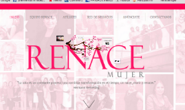 Copy of RENACE MUJER