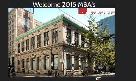 2015 SFU Beedie Career Management Centre Orientation