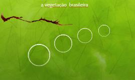 a vegetação  brasileira