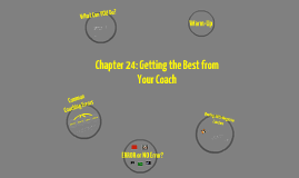 Chapter 24: Getting the Best from Your Coach