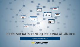 REDES SOCIALES CENTRO REGIONAL ATLÁNTICO