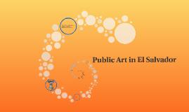 Public Art in El Salvador
