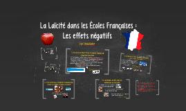 La Laïcité dans les Écoles Françaises :