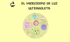 Copy of EL MICROSCOPIO DE LUZ  ULTRAVIOLETA
