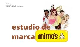 Estudio de Marca - Helados Mimo's