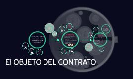 El OBJETO DEL CONTRATO