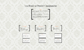 7.02 Peace or Power?: Assignment