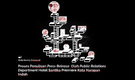 Proses Penulisan Press Release  Oleh Public Relations Depart