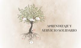 APRENDIZAJE Y SERVICIO SOCIAL