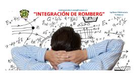 Método de Integración de Romberg