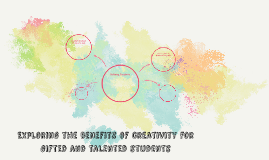 Exploring the benefits of creativity for gifted and talented