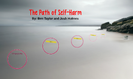 The Path of Self-Harm