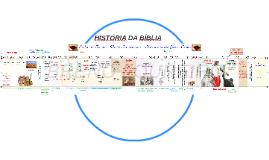 HISTÓRIA DA BÍBLIA