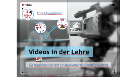 Videos in der Lehre