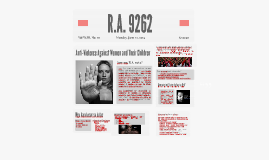 Copy of R.A. 9262: Anti-Violence Against Women and Their Children