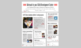 2016 NDLC - Outreach to Your Child Development