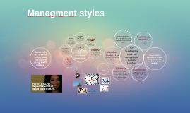 Managment styles