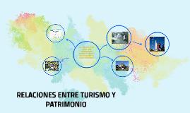 Copy of RELACION ENTRE TURISMO Y PATRIMONIO