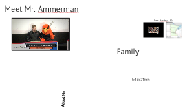 About Mr. Ammerman