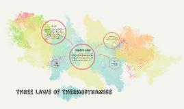 Three Laws of Thermodynamics