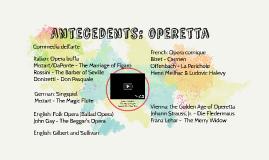HMT3 Antecedents: operetta