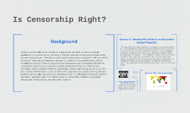 Can Censorship be Justified?