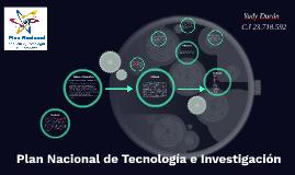 Plan Nacional de Tecnología e Investigación