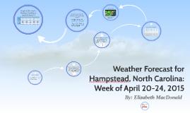 Weather Forecast for Hampstead, North Carolina