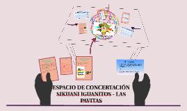 DESARROLLO GENERAL DE CADA ESPACIO DE CONCERTACIÓN