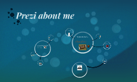 Prezi a little about me