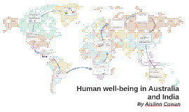 Copy of Human well-being in Australia and India