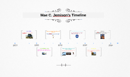 Copy of Mae. C Jemison's Timeline by Cristian S. on Prezi