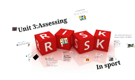Unit 3 - Assessing Risk in Sport