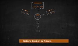 Sistema Gestión de Pricats