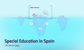 Special education in Spain