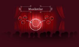 Copy of Musikstilar