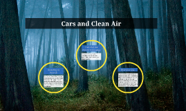 Cars and Clean Air
