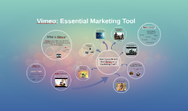 Copy of Vimeo:  Essential Marketing Tool