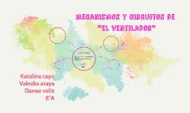 """mecanismos y circuitos de el """"ventilador"""""""