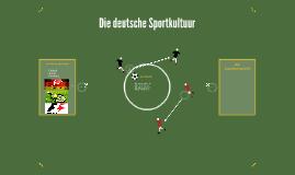 Die deutsche Sportkultuur