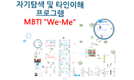 Copy of  MBTI We-Me 프로그램