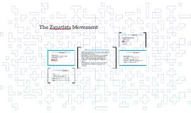 The Zapatista Movement