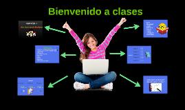 Bienvenido a clases